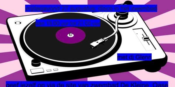 Activiteit 27 augustus Disco met DJ Glenn